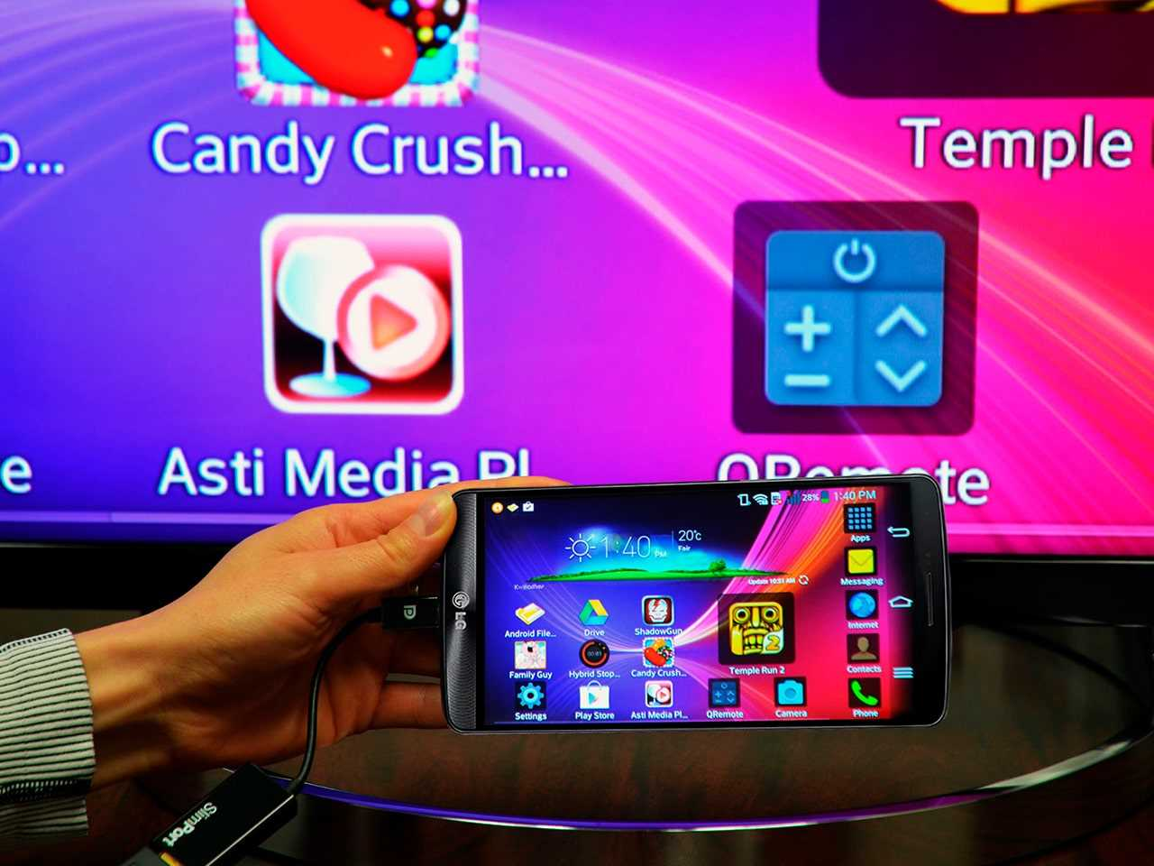 Подключение телефона к Smart TV